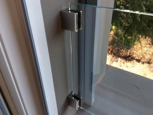 Parapetto in cristallo artigiano del vetro - Parapetto finestra ...